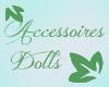 BOUTON accessoires dolls bouton